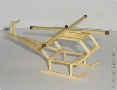 Макет модель Поделка изделие Поделки из спичек Спички фото 8