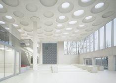 5osA: [오사] :: *포럼 앳 에켄버그 짐나지움, 중공슬래브 그 구조적 아름다움 [ Ecker Architekten ] The Forum at Eckenberg Gymnasium