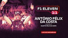António Félix da Costa, o piloto português, de 28 anos, foi o convidado especial de mais um F1 Eleven 1:1, em direto, no Instagram da ELEVEN SPORTS. Costa, 1, Movie Posters, Movies, Instagram, 28 Years Old, Pilots, Interview, 2016 Movies