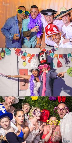 The funniest moments in your wedding happen in the photo booth.