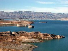 Beautiful Lake Mead located just outside of Las Vegas - there is so much to do - houseboating, jet skiing, fishing, swimming.