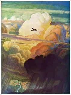 N. C. Wyeth: Air Mail, 1938