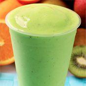 Kiwi smoothie    http://www.smoothieninja.com/monster-juice-kiwi-smoothie