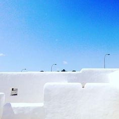 Walls like clouds Santa Eulalia #ibiza