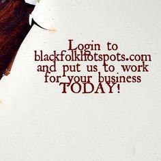Login to bfhsnetwork.com/main/authorization/signUp?target=http%3A%2F%2Fbfhsnetwork.com%2F%3Fxgi%3D24eplpCFYfYmqZ%26xgkc%3D1&utm_content=buffer08092&utm_medium=social&utm_source=pinterest.com&utm_campaign=buffer and put us to work for your business TODAY!   #blackbiz #blackbusiness #urbanevents #supportblackbusiness #blackwallstreet #teamBFHS #powernomics #supportblackbiz #sbbtv #notonedime #blackfriday  Tag a black business owner that we should follow today.