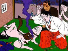 Weird Japanese Scene