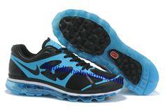 Mens Nike Air Max 2012 Black Navy Shoes