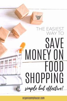 Saving money on food shopping is always something I want to do - and if you're like me, then this is the article that will give you the tip that will make it really simple to do Kitchen Organisation, Organization, Money Saving Meals, Household Chores, Frugal Tips, Ways To Save Money, Homemaking, Declutter, Make It Simple