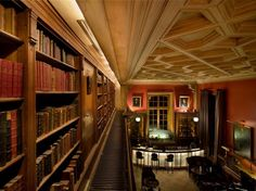 Library bar, St James Paris - Books & booze - I could spend forever in there!