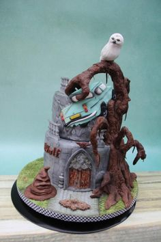 Harry Potter in problems - cake by Karla Vanacker