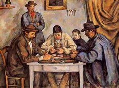 Paul Cézanne ~ The Card Players, 1890-92