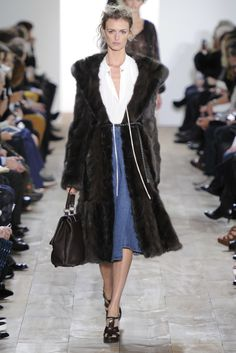 Michael Kors RTW Fall 2014 [Photo by Giovanni Giannoni]