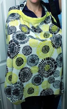 """Nursing Cover  Always said I didn't want one of these cuz they just shout """"NURSING!"""" But since we don't have a nursury at church, I'm thinking this would be pretty handy!"""