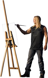 My favorite artist: Christian Riese Lassen,who lives on Maui. I had the privledge of meeting him a few years ago!