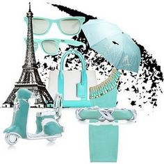 Paris in Tiffany Blue