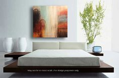 Large Painting Contemporary ART Modern Abstract Painting on Canvas LARGE Wall Art on Etsy, $420.00
