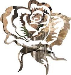 Camo rose