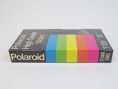 BLANK TAPE CASSETTE - NEW SEALED - POLAROID HIGH GRADE T-120 - VHS TAPE -