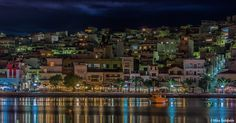 Sitia by night   by mike solidakis