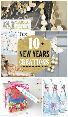 10+ New Years Creations on { lilluna.com } #newyears