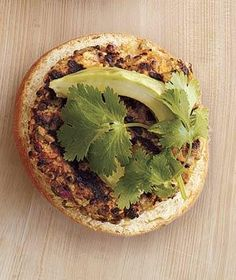 Avocado, Cilantro, and Lime Juice on a Veggie Burger | Give your same-old condiments a rest and shake it up with one of the following inventive combinations.