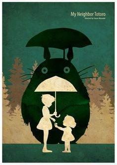Hayao Miyazaki Anime Movie Poster Series  My by Posterinspired