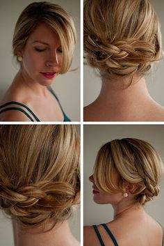 wedding hair with braids