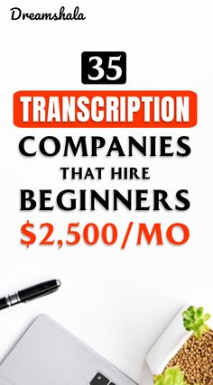 Are you searching for an online job? Do you have good listening and typing skills? Then check these 35 companies that offering online transcription jobs. Work From Home Companies, Online Jobs From Home, Work From Home Opportunities, Work From Home Jobs, Online Work, Ways To Earn Money, Earn Money From Home, Earn Money Online, Way To Make Money