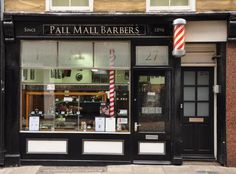 BLACK EXTERIOR? coolest barbershop design front look - Google Search