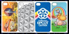 It's the 30th Anniversary of Epcot on Oct. 1, and I'm craving a retro Epcot iPhone case!