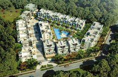卷住区 分隔出路径和聚集空间 Resort Plan, Urban Analysis, Property Design, Site Plans, Green Architecture, Sea And Ocean, Master Plan, Urban Planning, Beach Hotels