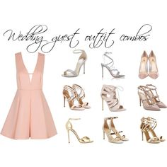 Wedding guest outfit combos