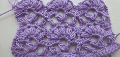 "How to Crochet * Crochet Stitch ""Anastasia"" - Video Tutorial ✭Teresa Restegui http://www.pinterest.com/teretegui/ ✭"