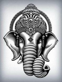 Tatuaggio Ganesh: significato, simbologia e idee tattoo