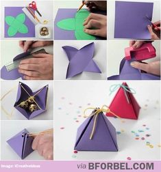 Useful DIY tip for Valentine's day goodie bags