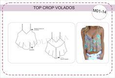 Top crop volados (M01-14) — La Molderia