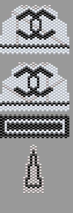 Partager Tweeter + 1 E-mail Voici le shéma du mini sac Chanel noir et blanc … ^^ Bon perlage Posts similairesMini sac Chanel en ...