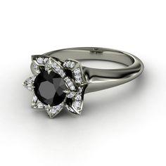 Lotus Ring by Gemvara #engagementring