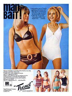 Bry-Nylon Swimwear Advert 1960s