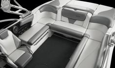 grey and black and white ski boat interiors - Google Search