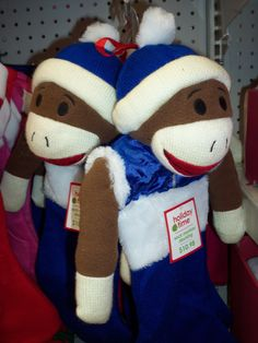 Sock Monkey Duo.  Photo by Frederick Meekins