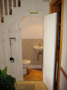toilet under stairs google search - Bathroom Designs Under Stairs