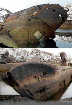 abandoned russian -submarines