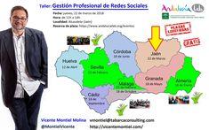 ¡Continuamos llevando el taller de Redes Sociales a toda la geografía andaluza! Esta vez será en Alcaudete (Jaén) el jueves 22 de Marzo.    Y como siempre, por cortesía de AndalucíaLab, el evento es GRATUITO Y LAS PLAZAS SON LIMITADAS.    Luego no digáis que no estáis avisados: las plazas vuelan, y (todavía) se pueden reservar en https://www.andalucialab.org/eventos/gestion-profesional-redes-sociales-18057/    ¡Allí nos vemos!