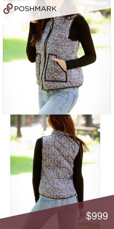  Coming Soon  Cozy Vest Like this listing to get a price drop notification when it arrives. Comment to reserve a listing. Will model as soon as it arrives! -xoxo boutique  Jackets & Coats Vests