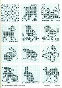ru / Photo # 46 - Different animals (scheme) - Olgakam Cross Stitch Bird, Cross Stitch Borders, Cross Stitch Animals, Cross Stitch Charts, Cross Stitching, Cross Stitch Patterns, Russian Cross Stitch, Filet Crochet Charts, Crochet Cross