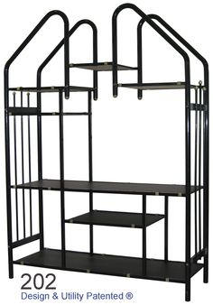 Steel Divider 202 Glass Tv Stand, Center Table, Console Table, Wardrobe Rack, Divider, Steel, Living Room, Furniture, Home Decor