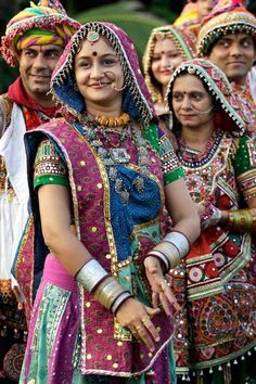 Festivity grips India as Navratri, or the festival of nine nights, begins Tuesday, October Gente India, Art Wolfe, Bollywood, Amazing India, India Culture, India People, Rajasthan India, India India, People Of The World