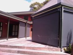 High End - Roller Blinds Roller Blinds, Exterior, Outdoor Decor, Home Decor, Decoration Home, Room Decor, Outdoor Rooms, Home Interior Design, Home Decoration