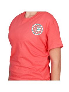 Monogram Circle Short Sleeve Relaxed Fit T-Shirt